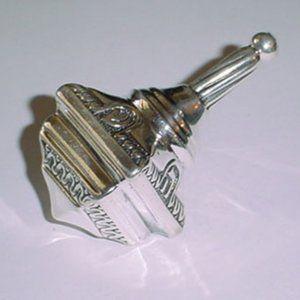 Vintage sterling Silver 925 Dreidel NEW old stock